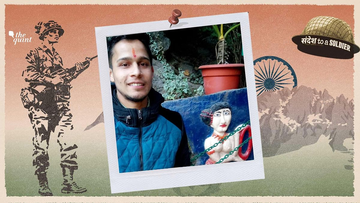 Amit Belwal from Nainital sends his 'Sandesh to a Soldier'.