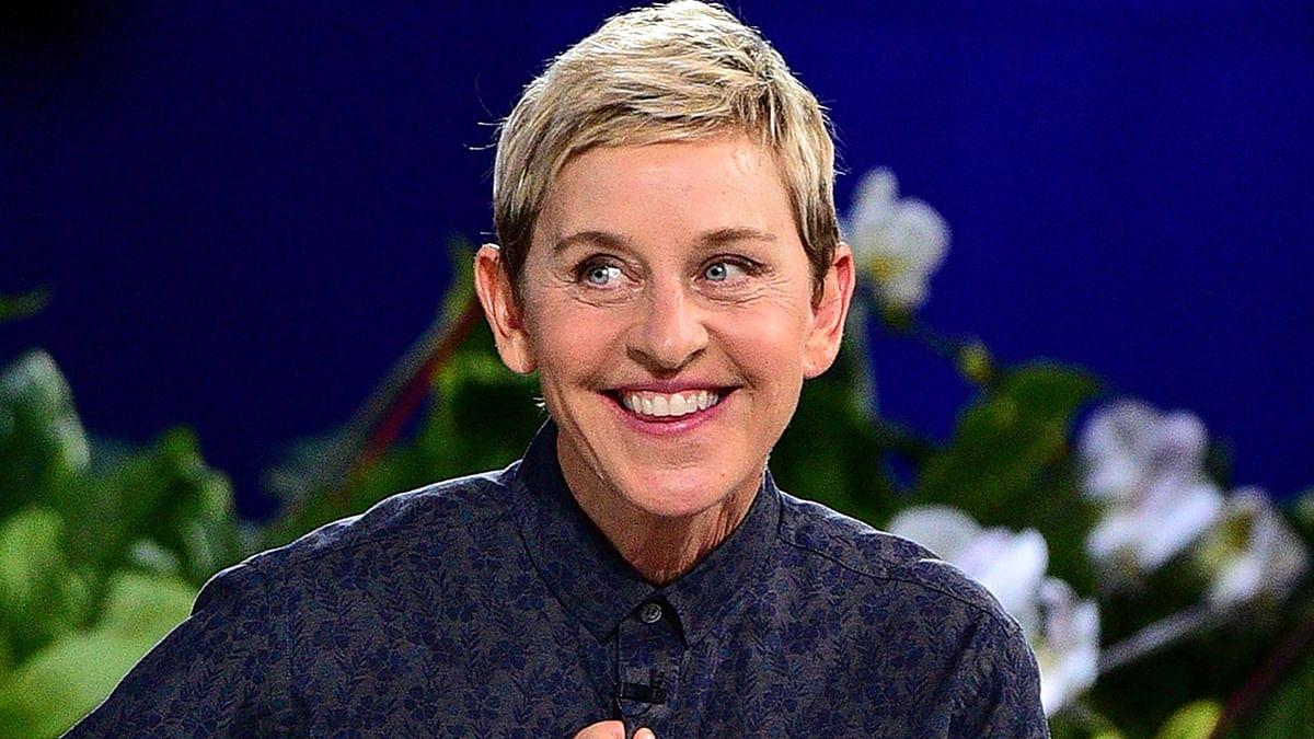 Talk show host Ellen DeGeneres.