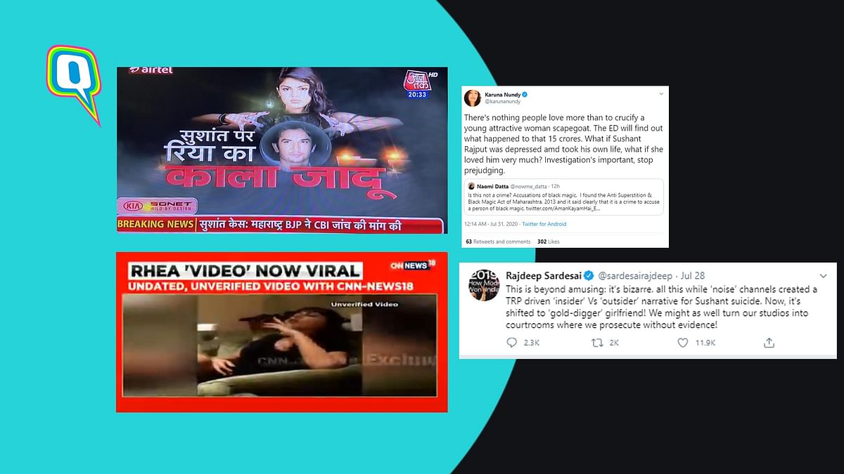 Events in the aftermath of Sushant Singh Rajput's death have brought the Indian media under scrutiny.