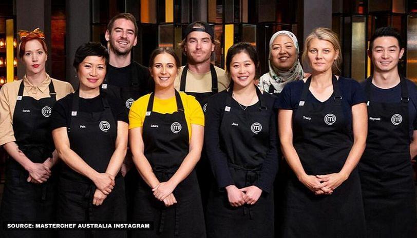 The contestants from Masterchef Australia season 12.