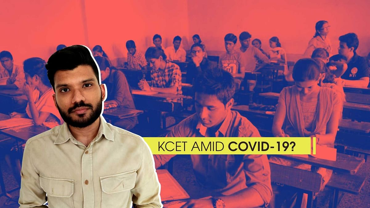 Why Conducting KCET For COVID +ve Students is Unsafe, Insensitive