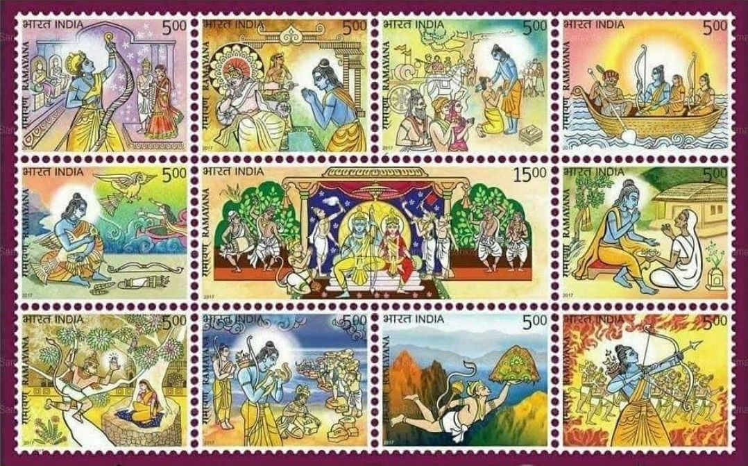 No, Ramayana Stamps Weren't Issued Ahead of Bhumi Pujan in Ayodhya