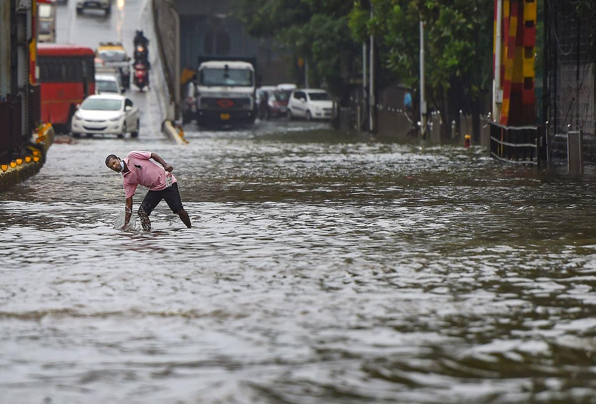Parts of Mumbai Waterlogged, Moderate to Heavy Rainfall Predicted