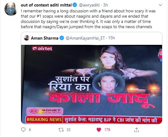 Media Blames 'Black Magic' For Sushant's Death, Twitter Furious