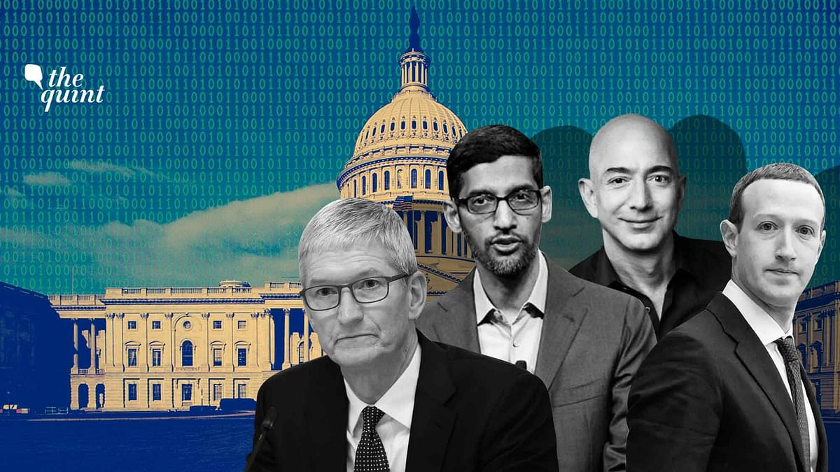 Watch: US Congress Grills Amazon, Apple, Facebook & Google's CEOs