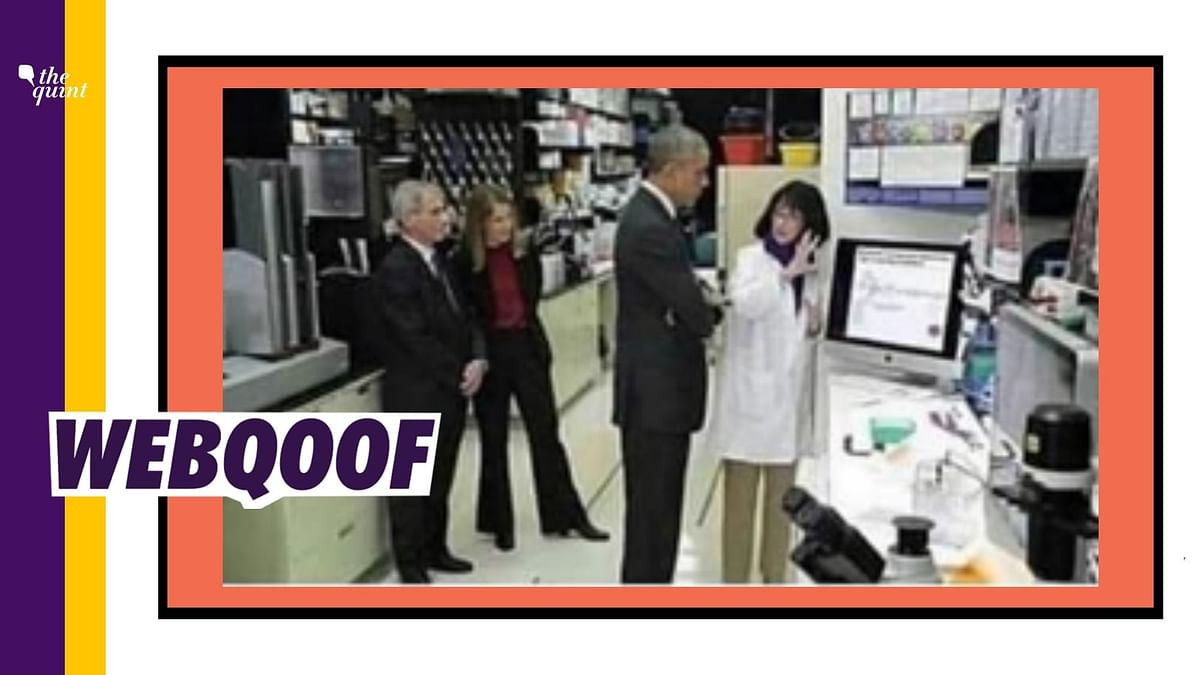 No, Image Doesn't Show Obama, Dr Fauci Visiting Wuhan Lab in 2015