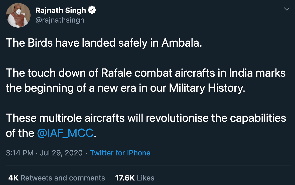 'Congrats, But Can GOI Answer...': Rahul on Rafale Jets in India