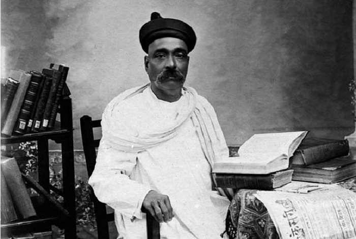 Archival Image of Lokmanya Tilak.