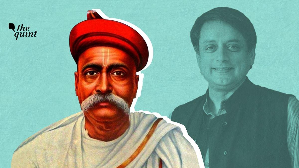 Image of Lokmanya Tilak and Dr Shashi Tharoor used for representational purposes.