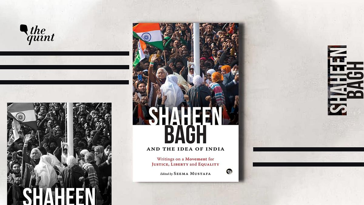Book cover of 'Shaheen Bagh and the Idea of India: Writings on a Movement for Justice, Liberty and Equality', published by Speaking Tiger Books (2020) –– used for representational purposes.