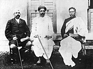 Lala Lajpat Rai of Punjab, Bal Gangadhar Tilak (middle) of Maharashtra, and Bipin Chandra Pal of Bengal, the triumvirate were popularly known as Lal-Bal-Pal.