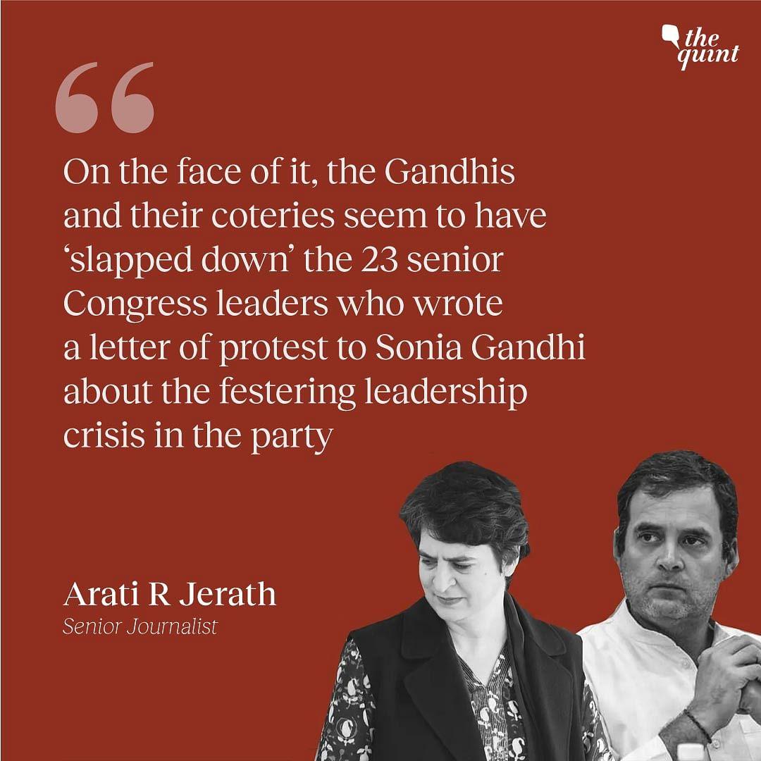 Congress Crisis: Will Rahul & Priyanka Meet Dissenters Half-Way?