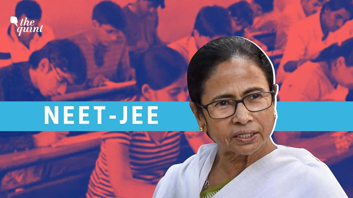 It was a meeting called by Sonia Gandhi, but just a few minutes into the opposition meeting on NEET-JEE, West Bengal Chief Minister Mamata Banerjee was asked to take over and convene by the Congress supremo.