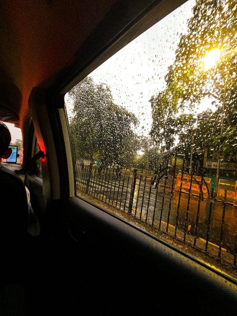 Delhi rains 2020.