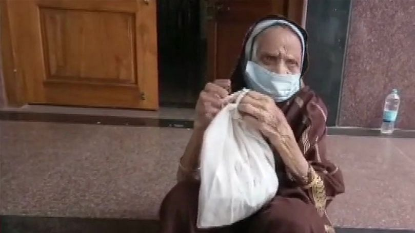 110-year-old Siddamma successfully recovers from COVID.