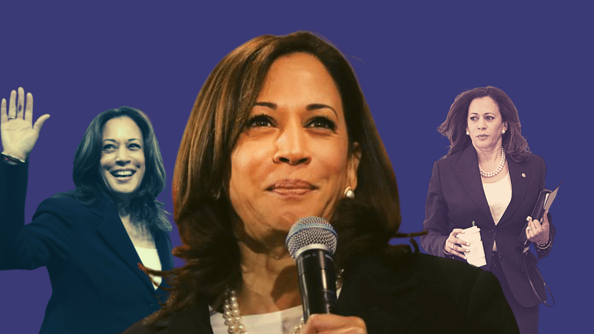 """""""You chose hope and unity, decency, science, and yes, truth. You chose Joe Biden as the next president of the United States of America,"""" said Kamala Harris."""