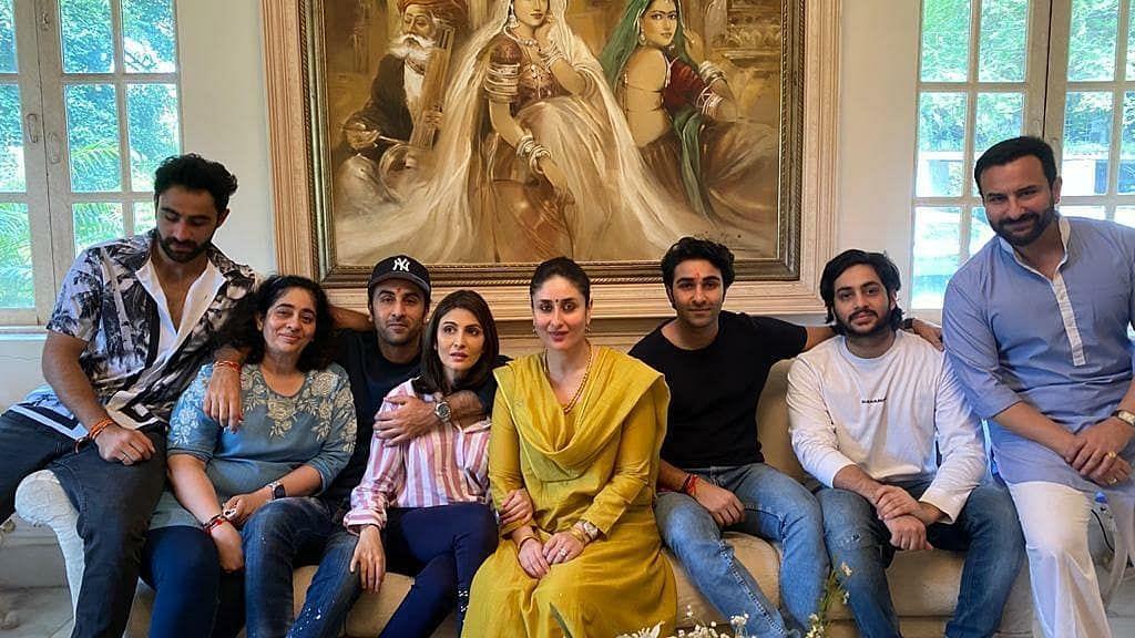 The Kapoor family celebrates Rakhi.