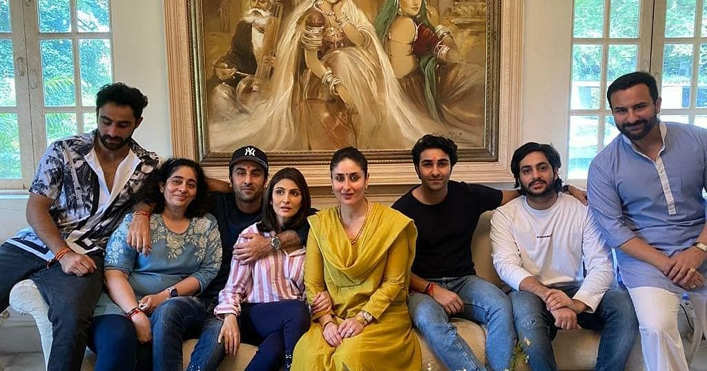 Kapoor Family Gets Together For a Grand Rakhi Lunch