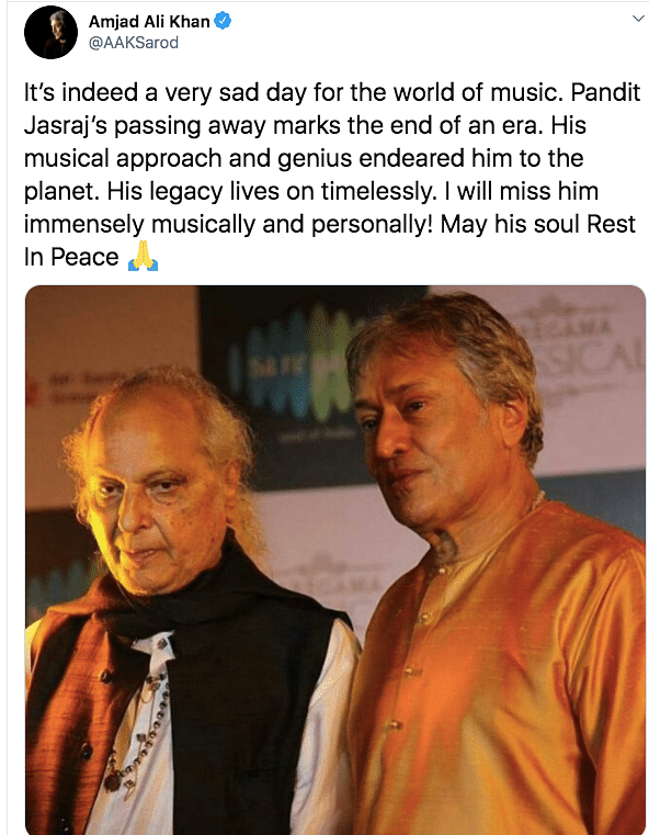 Indian Classical Vocalist Pandit Jasraj Passes Away at 90