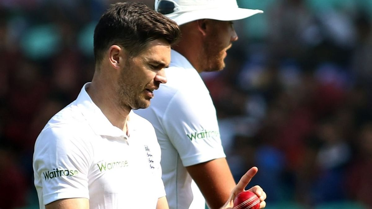 James Anderson says he can now target taking 700 Test wickets.