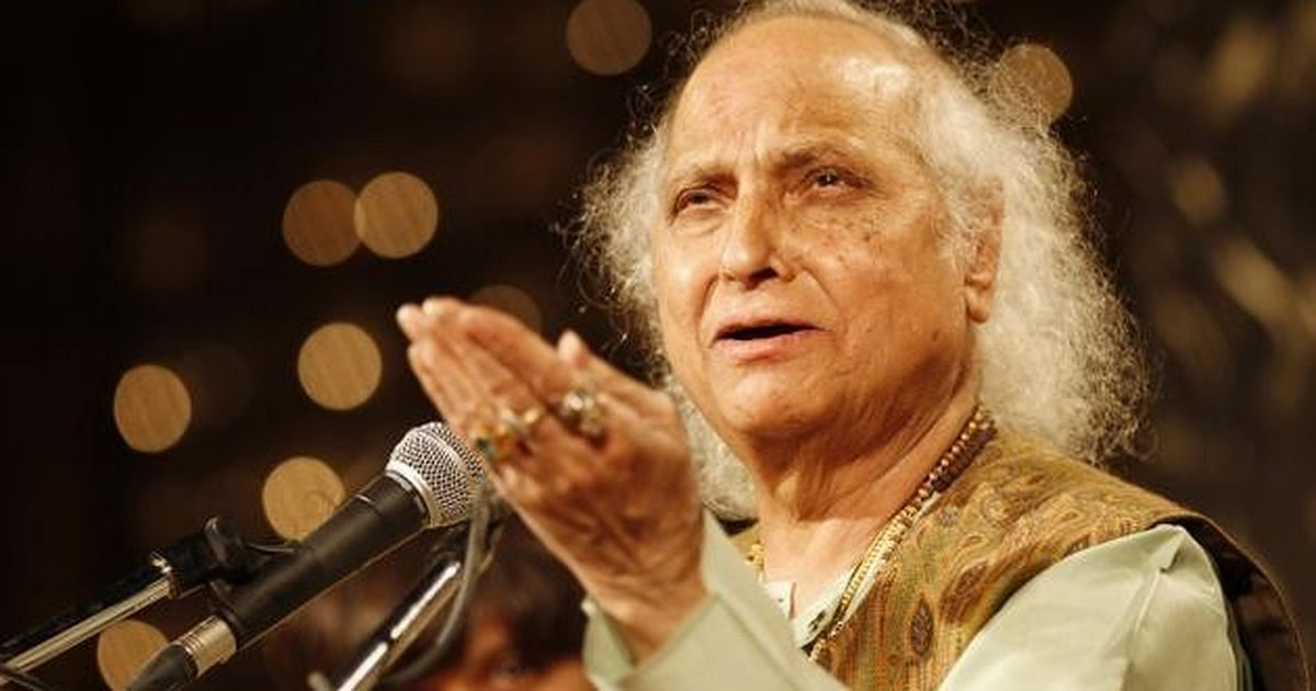 Pandit Jasraj passed away on Monday.