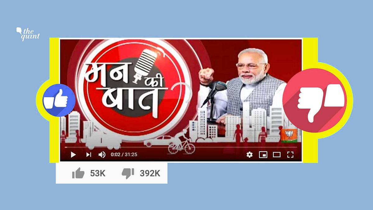 15,000 'Dislikes' Disappear From PM's Mann Ki Baat YouTube Video
