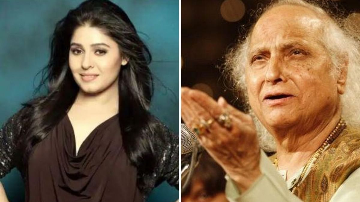 Sunidhi Chauhan expressed grief over the demise of Pandit Jasraj.