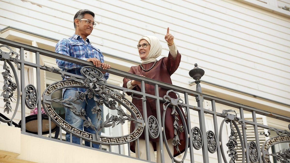 Aamir Khan with Turkish First Lady Emine Erdogan