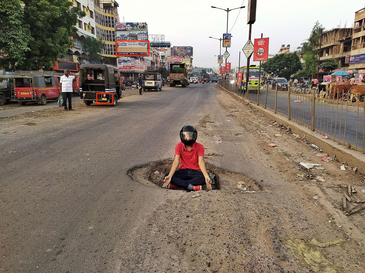 Images From West Bengal Shared as Poor Condition of Roads in UP