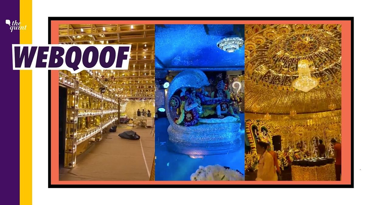 Hyd Video Shared as Pandal Decorated For Ram Mandir's Bhoomi Pujan