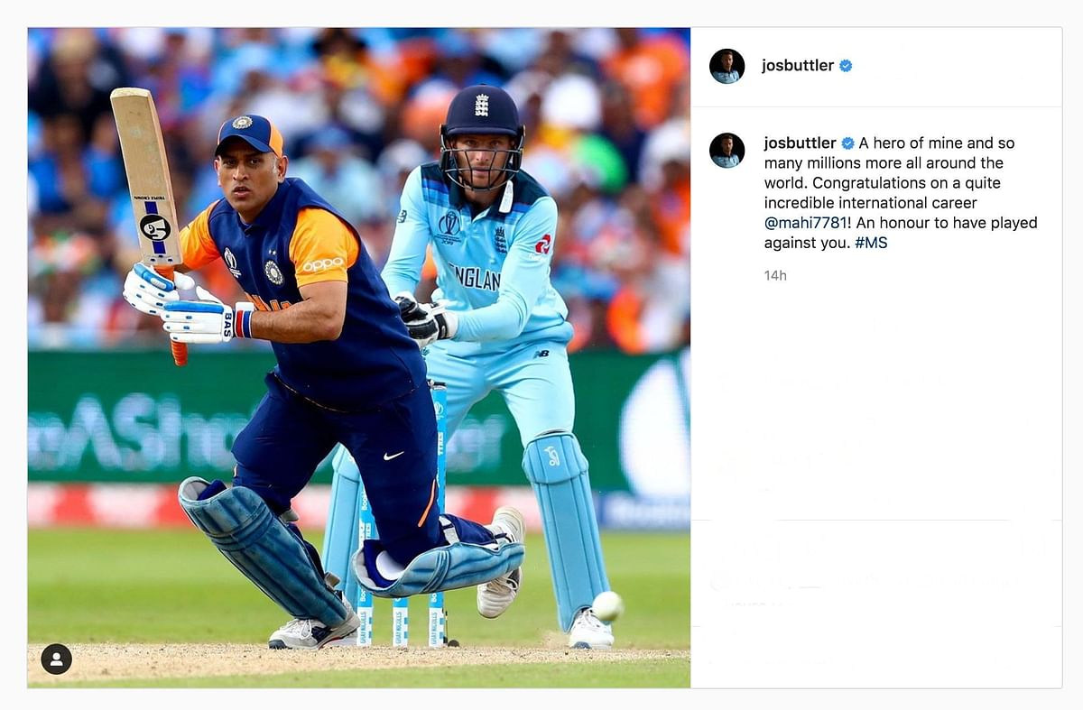 Afridi, Akhtar, to Buttler: MS Dhoni's On-Field Rivals Pay Tribute