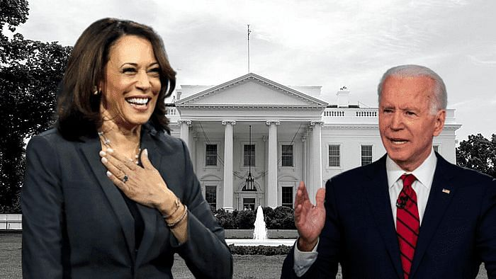 Image of Kamala Harris and Joe Biden used for representational purposes.