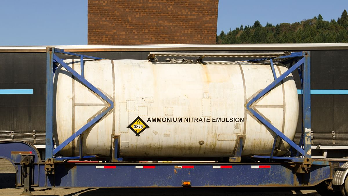 First Batch of Ammonium Nitrate Reaches Hyderabad From Chennai