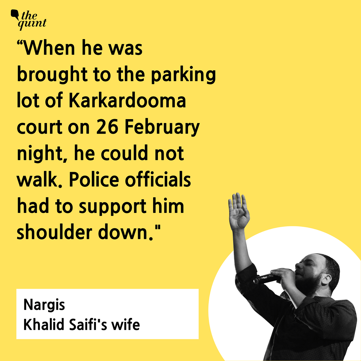 Delhi Riots: Six Months After 'Torture', Khalid Saifi Awaits Bail