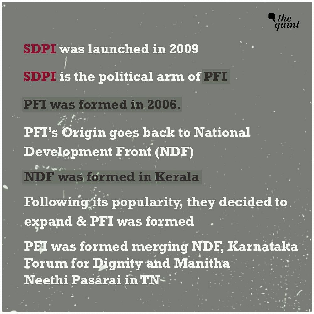 Karnataka's BJP Government Wants To Ban SDPI, But Will They?