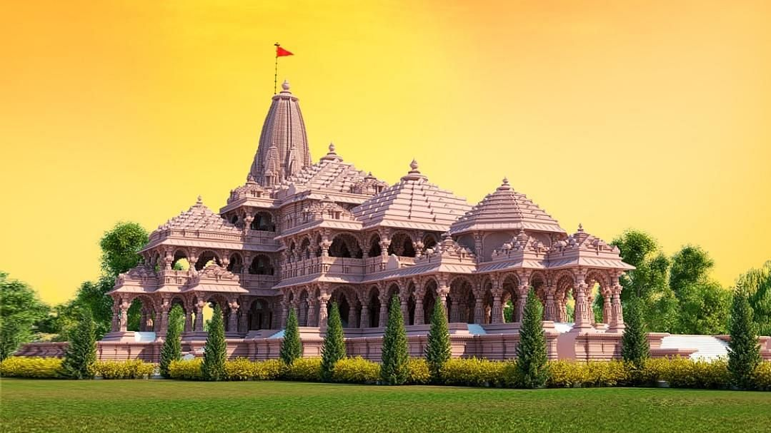Images of Proposed Model for Ram Temple Shared Before Bhoomi Pujan