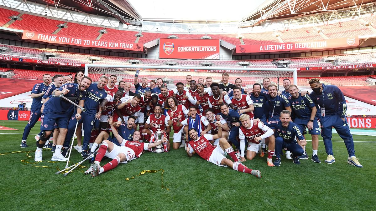 Aubameyang Double Helps Arsenal Win Record 14th FA Cup Title