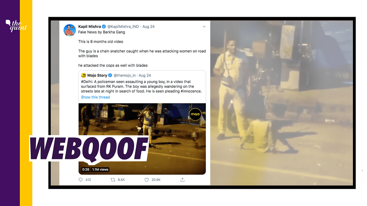Mojo's Video of Cop Beating Boy is 8 Months Old? No, Fake Claim!