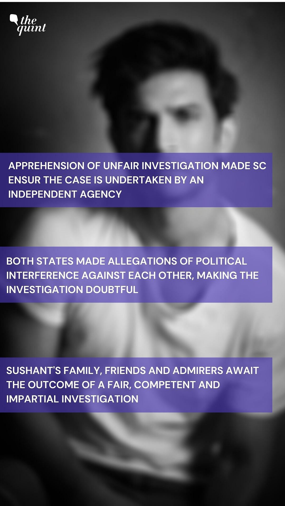Key highlights from the Supreme Court Order in Sushant Singh Rajput Case.