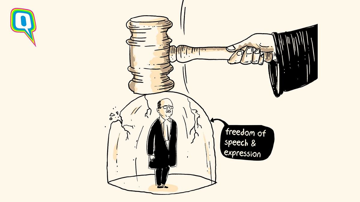 Prashant Bhushan being convicted for contempt of court despite the right to freedom of speech and expression is kaafi real.