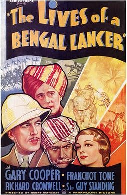 Bengal Lancer movie poster.