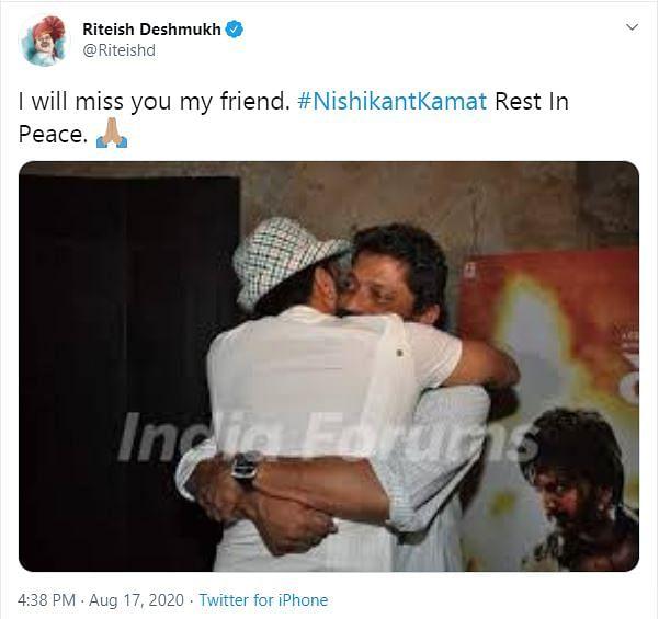 'Drishyam' Director Nishikant Kamat Passes Away at 50