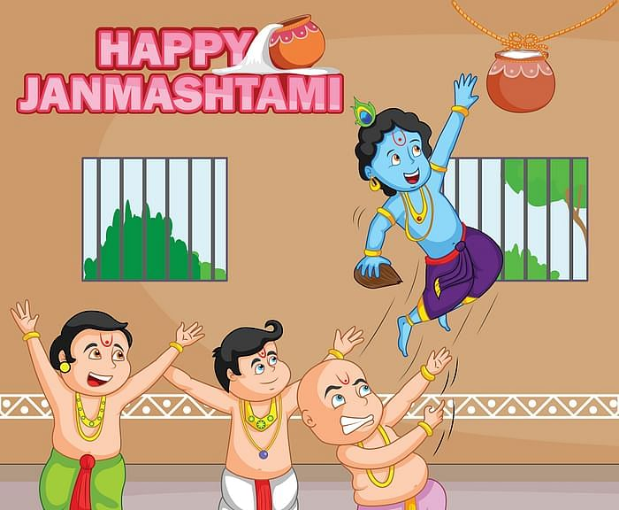 Dahi Handi 2020: Images, Quotes and Wishes on Janmashtami