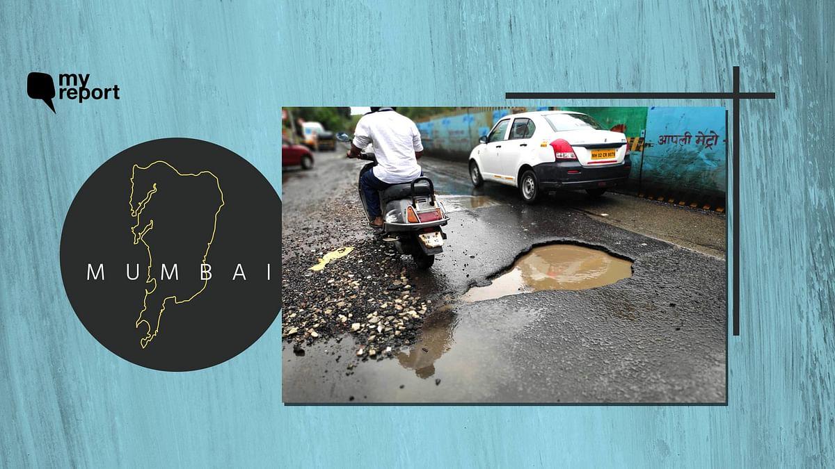 Several Potholes in Mumbai's Santacruz Road, BMC Must Act Quick
