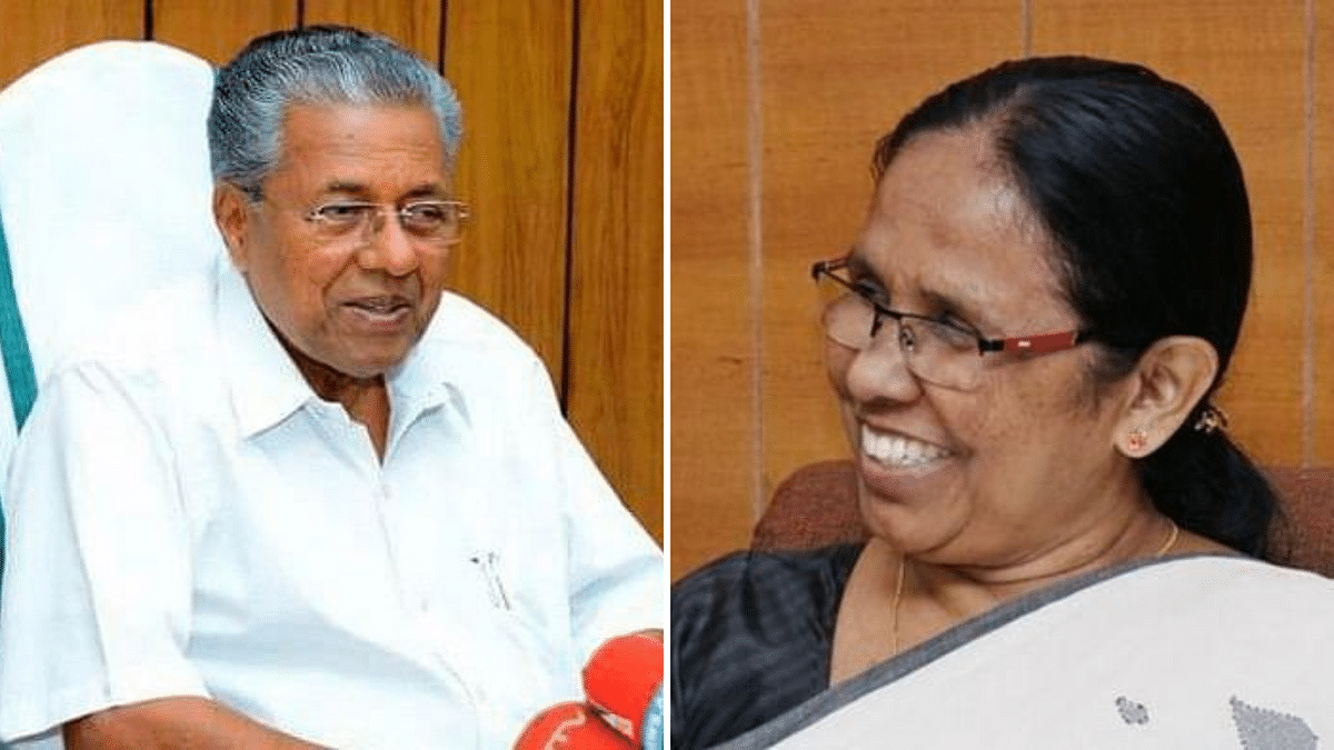 Pinarayi Vijayan, KK Shailaja Test COVID Negative in Antigen Test
