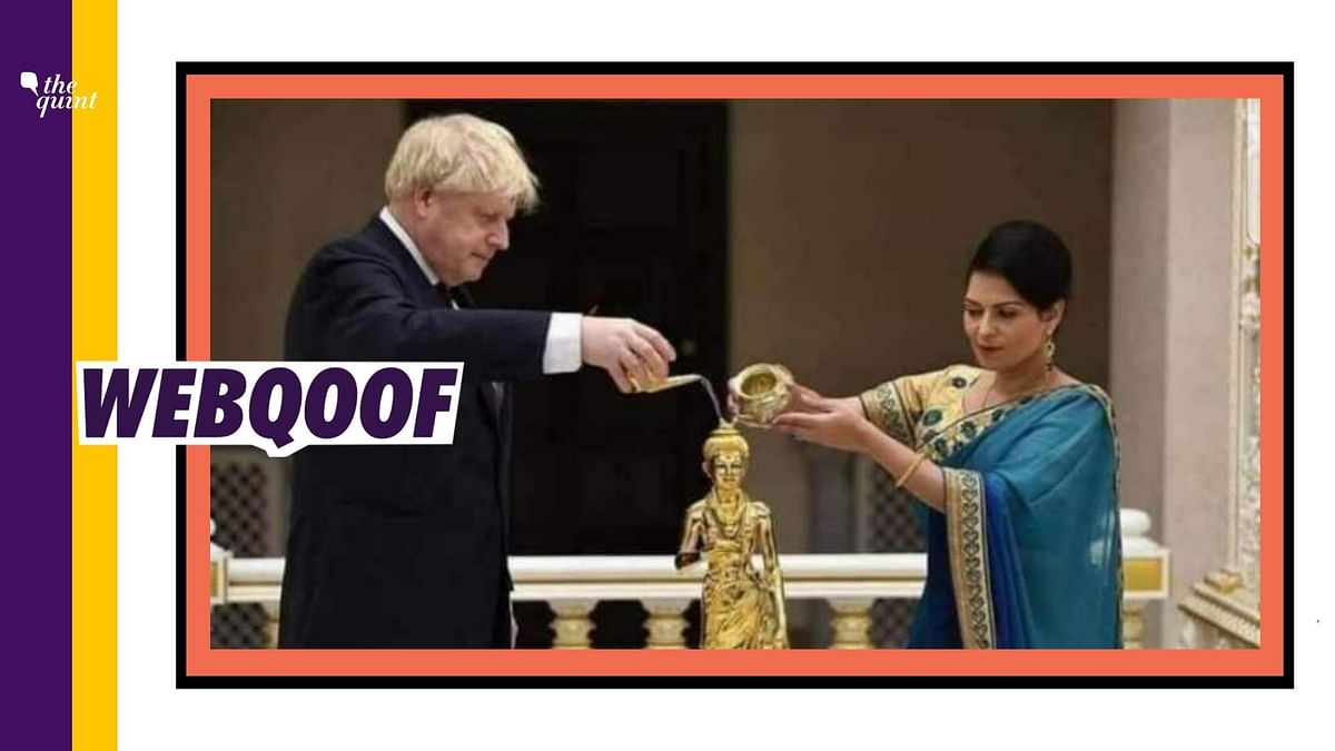 Boris Johnson Prayed  to Lord Ram on Day of Bhoomi Pujan? Nope.