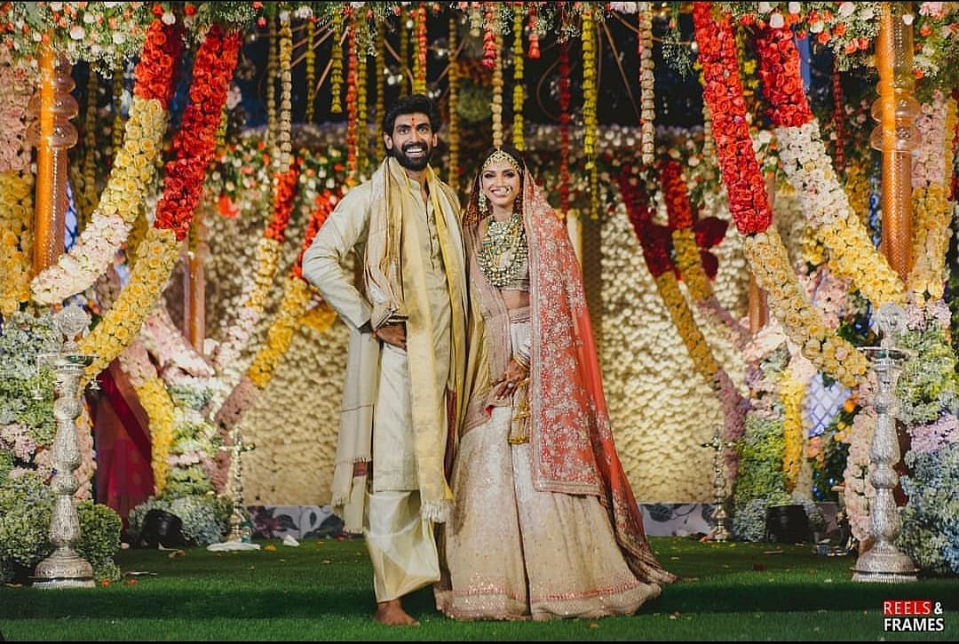 Pics: Rana Daggubati And Miheeka Bajaj Get Married in Hyderabad