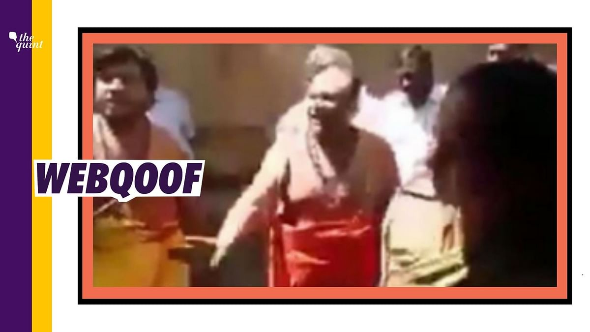 Old Video of Karnataka Priests' Fight Shared With a False Claim