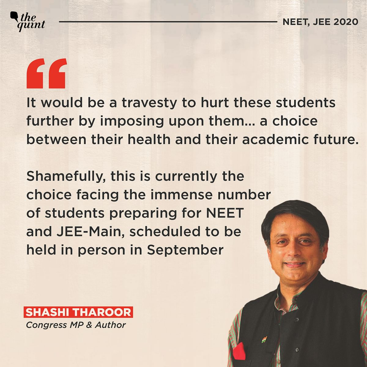 NEET, JEE 2020: Why BJP Must Listen To Reason – And The Opposition