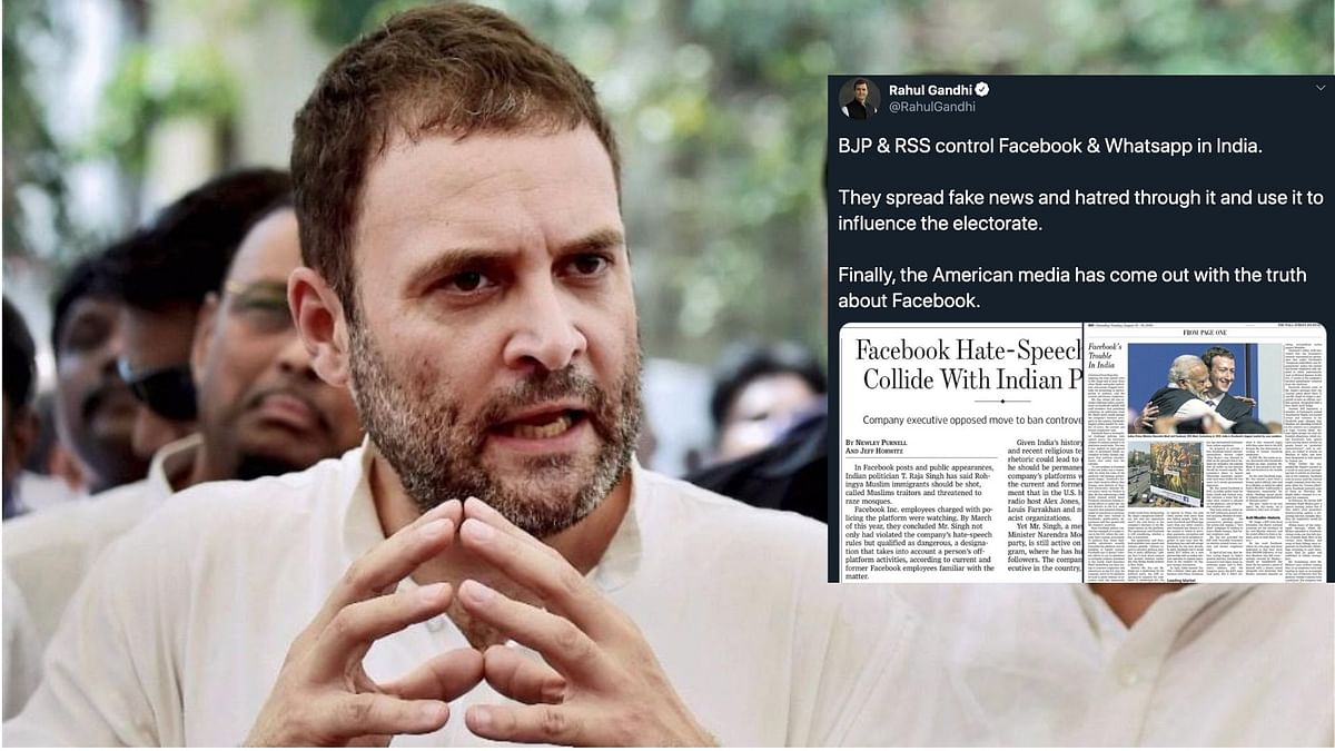 'FB-BJP Bhai Bhai': Upheaval in India Over Facebook's 'BJP Bias'
